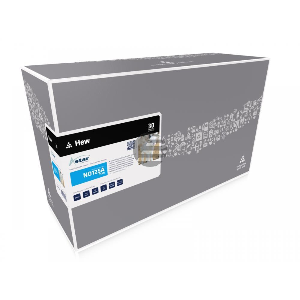 Astar Toner-Kartusche cyan (AS14145) ersetzt 125A