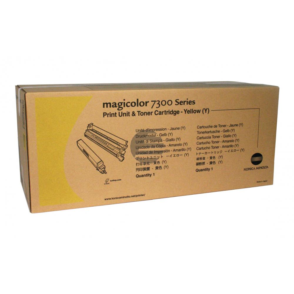 Konica Minolta Fotoleitertrommel gelb (433-3513) ersetzt 171-0532-002