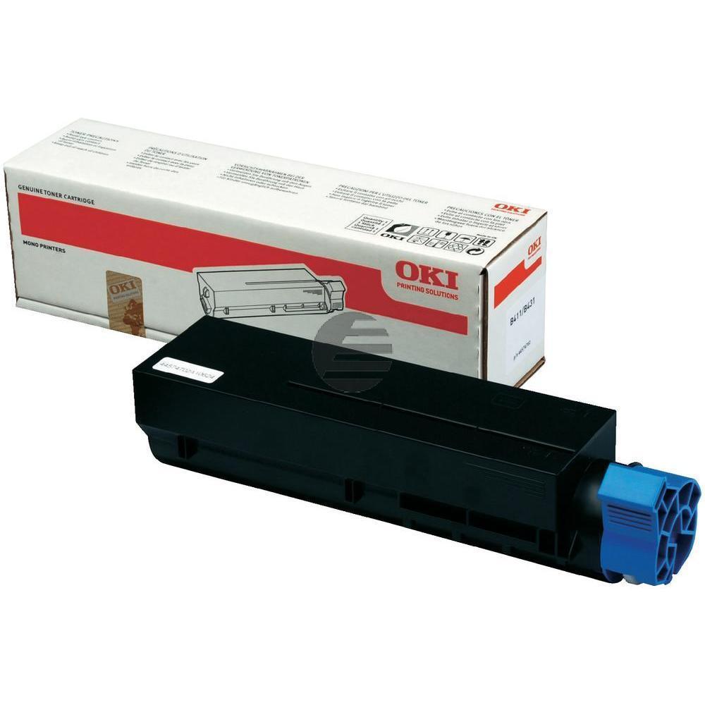 OKI Toner-Kit schwarz (44574702)
