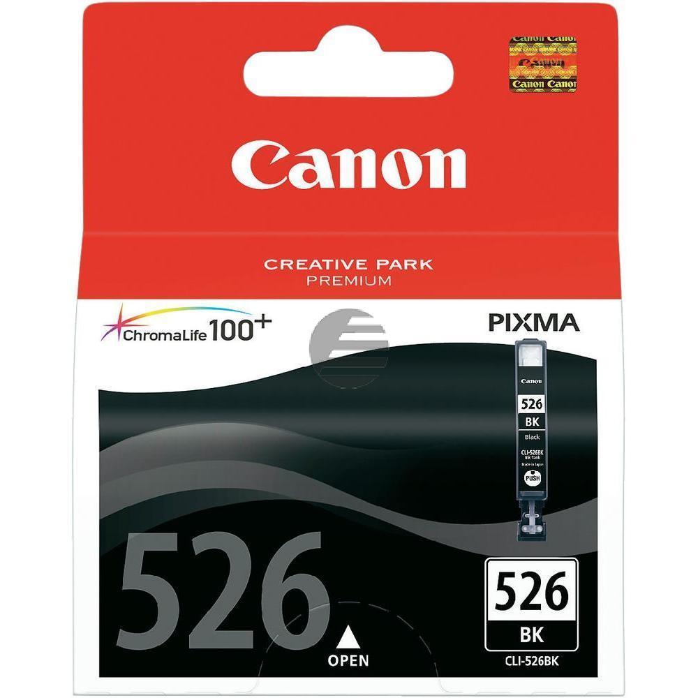 Canon Tintenpatrone schwarz (4540B001, CLI-526BK)