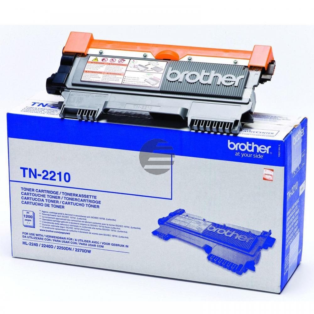 Brother Toner-Kit schwarz (TN-2210)