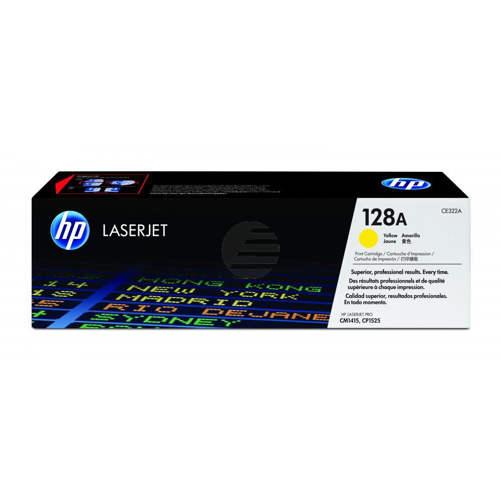 HP Toner-Kartusche gelb (CE322A, 128A)