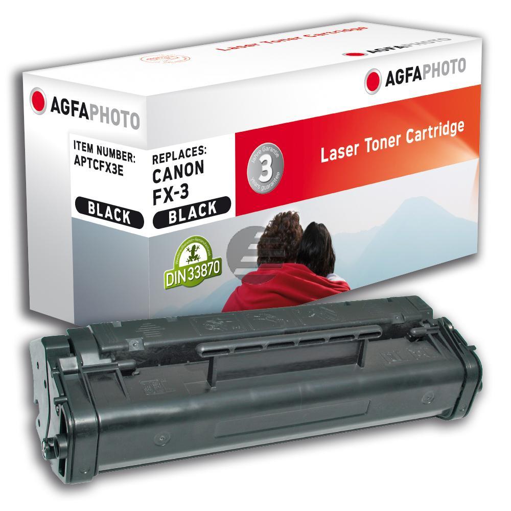 Agfaphoto Toner-Kartusche schwarz (APTCFX3E) ersetzt FX-3