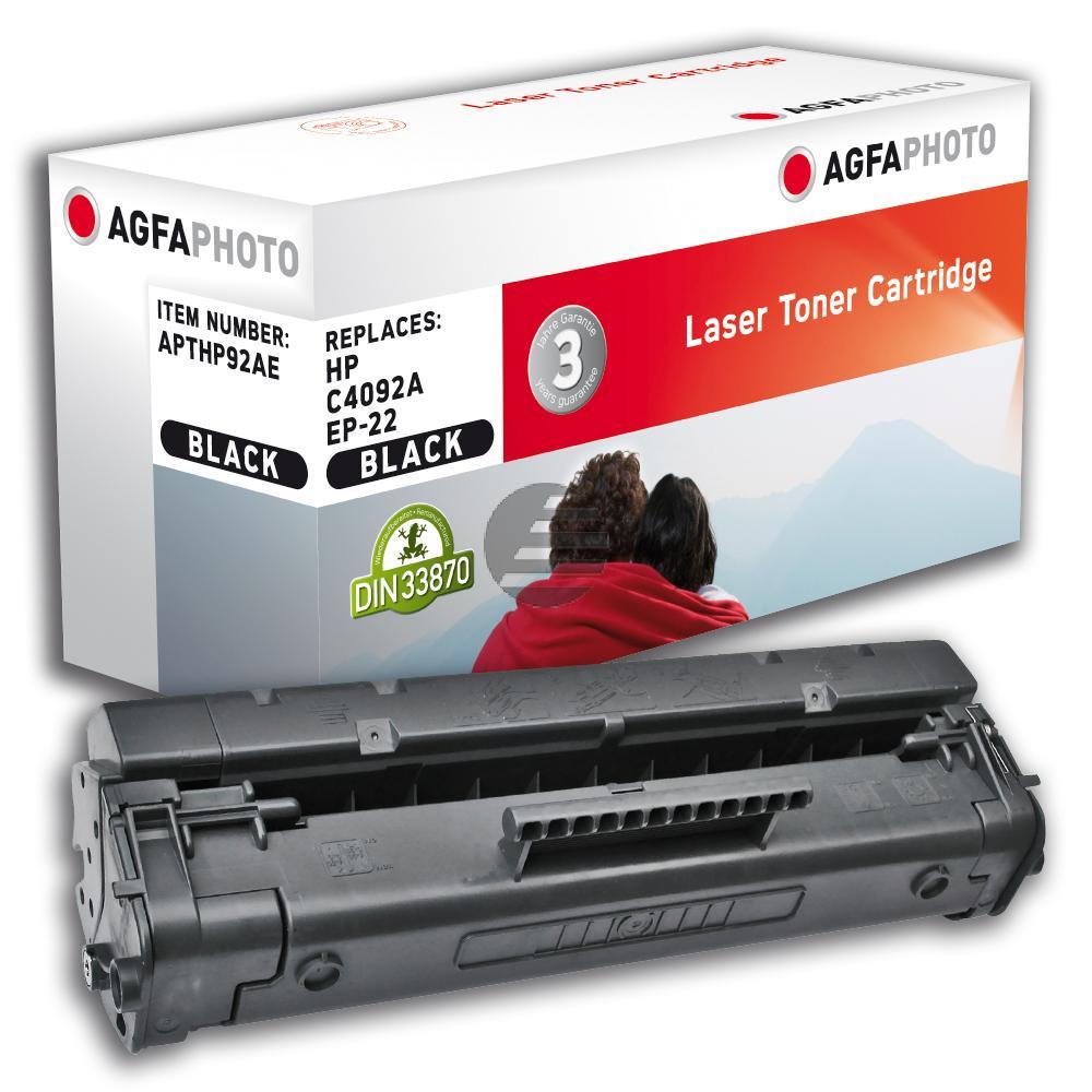 Agfaphoto Toner-Kartusche schwarz (APTHP92AE) ersetzt 92A, EP-22