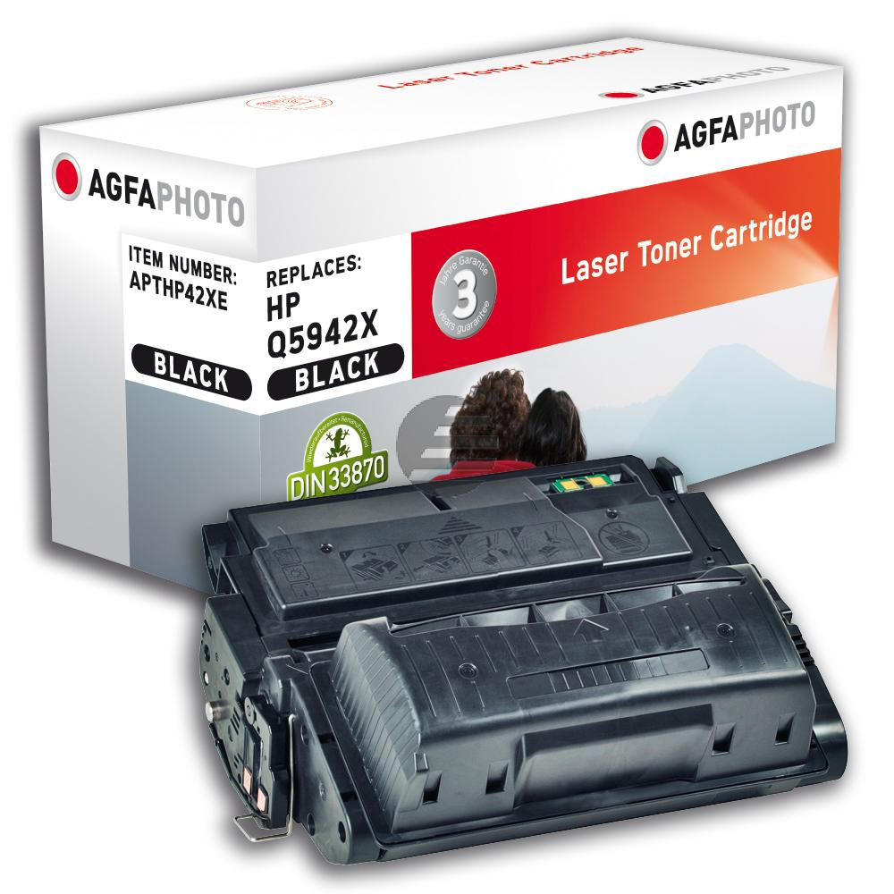 Agfaphoto Toner-Kartusche schwarz HC (APTHP42XE) ersetzt 42X