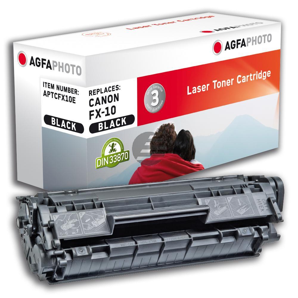Agfaphoto Toner-Kartusche schwarz (APTCFX10E) ersetzt FX-10, TC-02