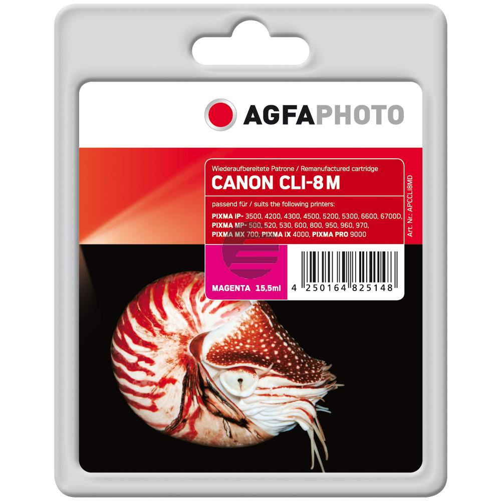 Agfaphoto Tintenpatrone magenta (APCCLI8MB) ersetzt CLI-8M