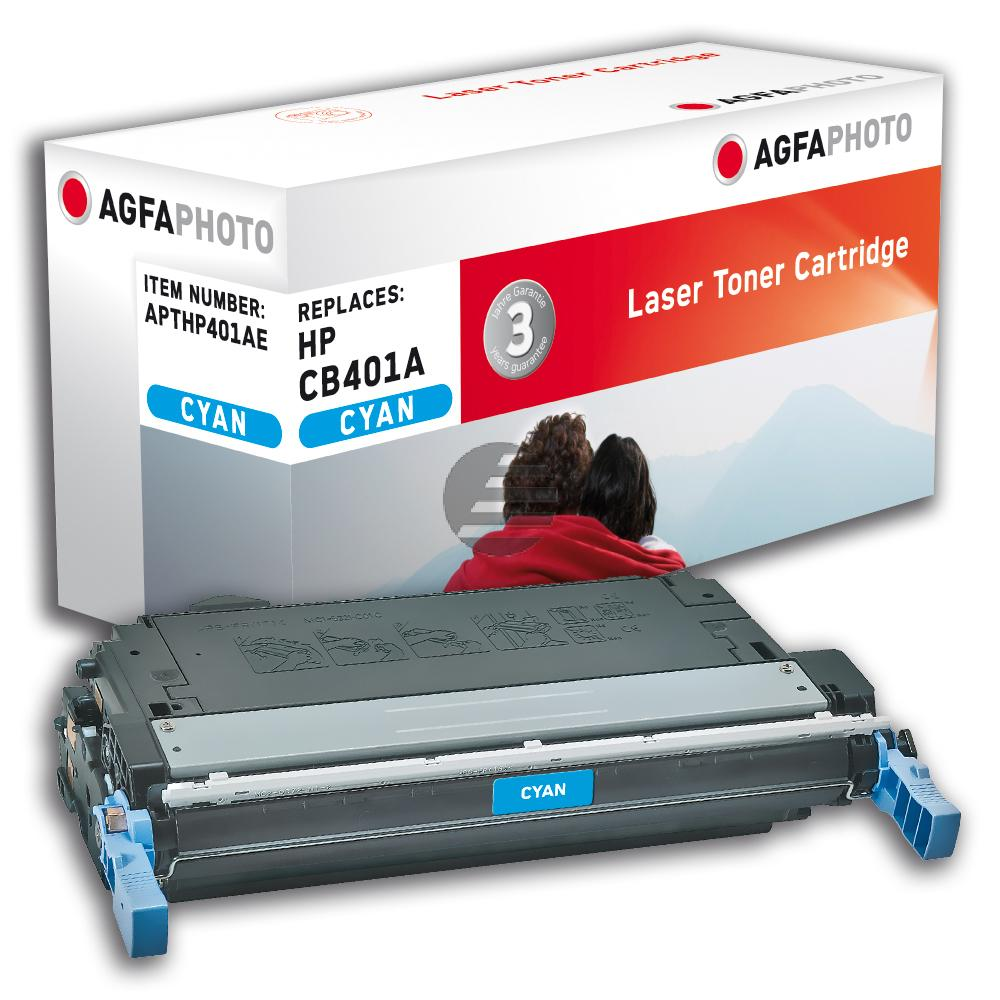 Agfaphoto Toner-Kartusche cyan (APTHP401AE) ersetzt 642A