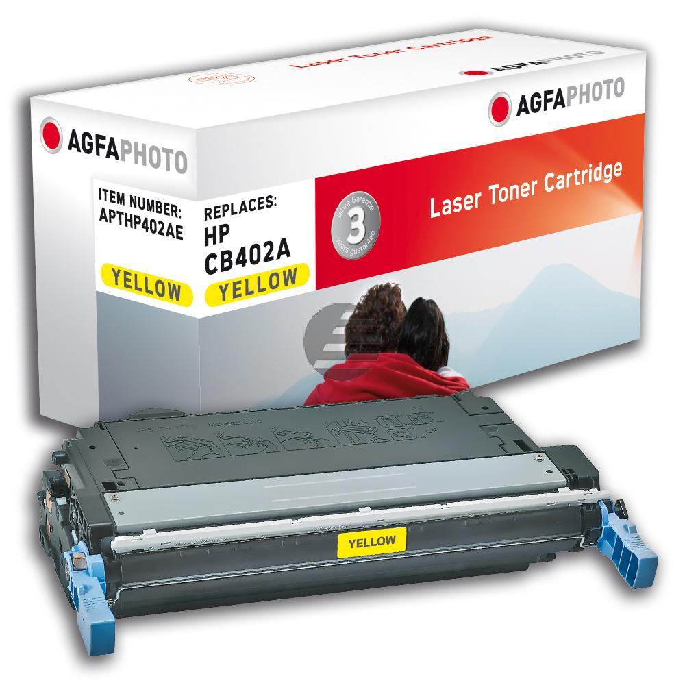 Agfaphoto Toner-Kartusche gelb (APTHP402AE) ersetzt 642A