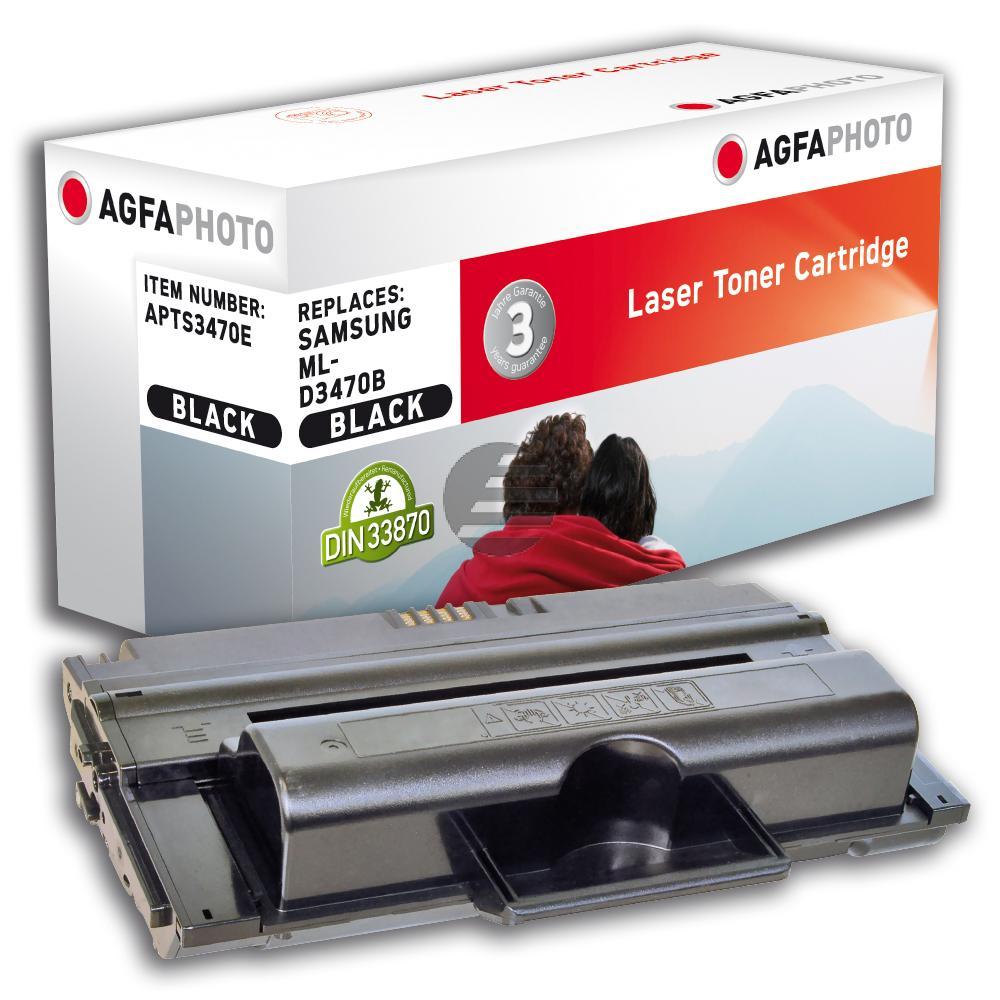 Agfaphoto Toner-Kartusche schwarz HC (APTS3470E) ersetzt 3470