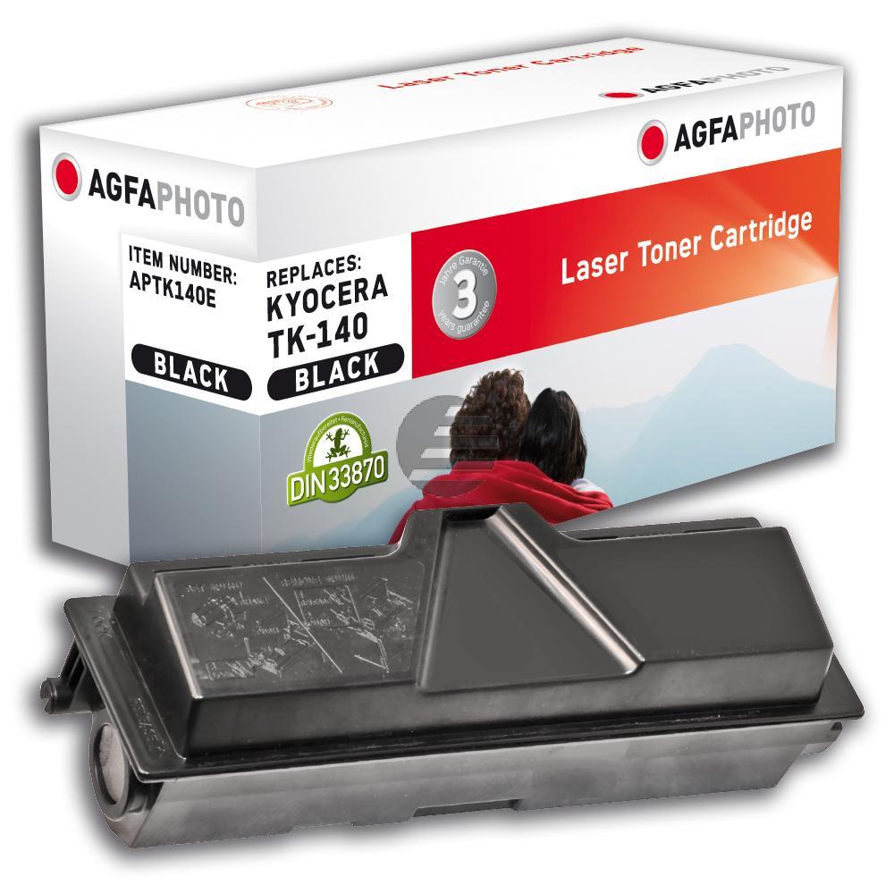 Agfaphoto Toner-Kit schwarz (APTK140E) ersetzt TK-140