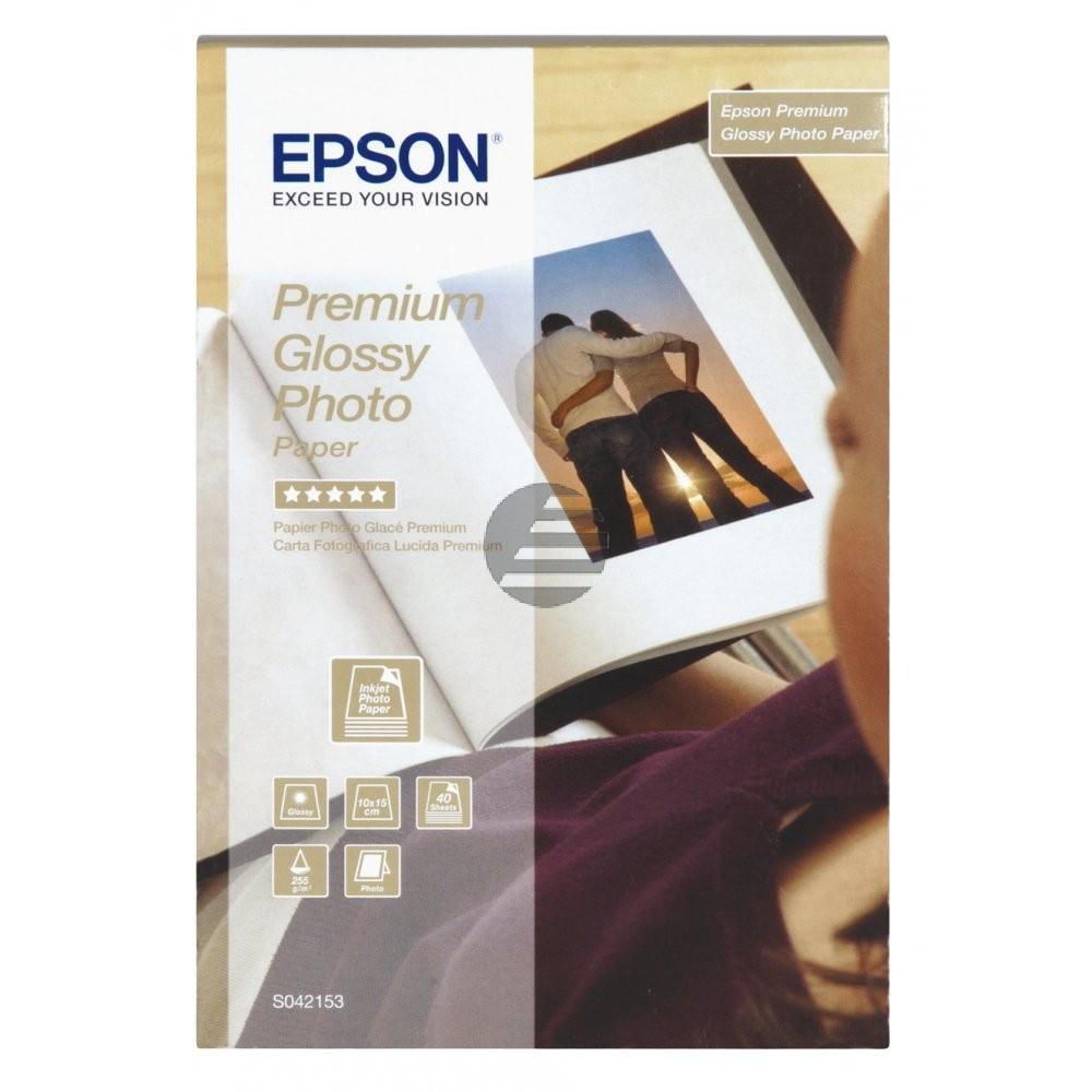 Epson Fotopapier 100 x 150mm weiß (C13S042153)