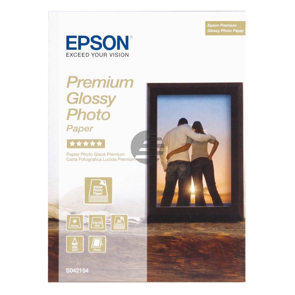 Epson Fotopapier 100 x 150mm weiß (C13S042154)