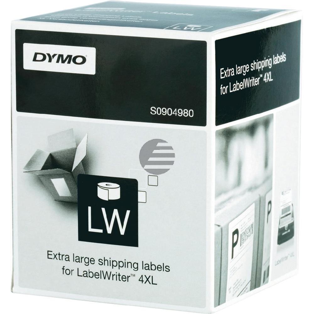 Dymo Versand-Etiketten weiß (S0904980)