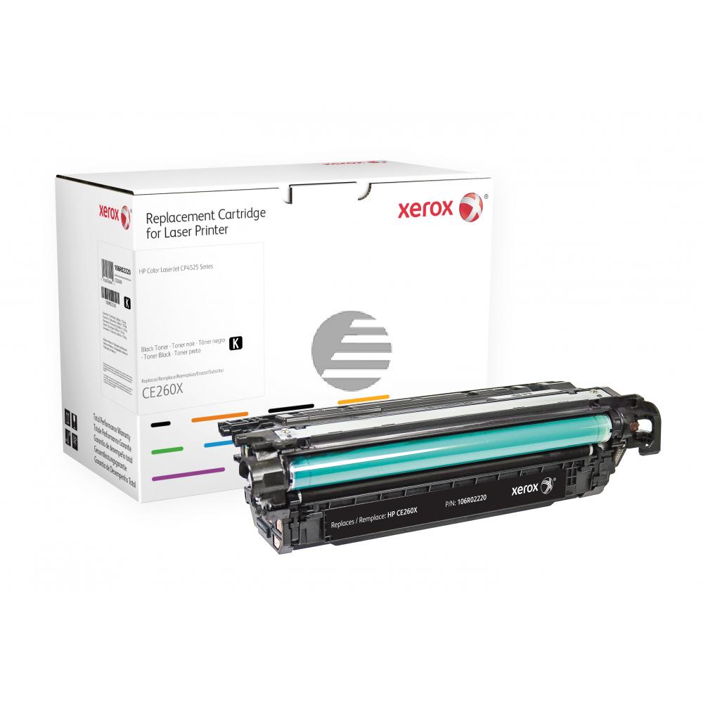 Xerox Toner-Kartusche schwarz HC (106R02220) ersetzt 649X