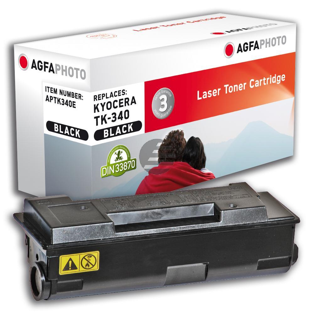 Agfaphoto Toner-Kit schwarz (APTK340E) ersetzt TK-340