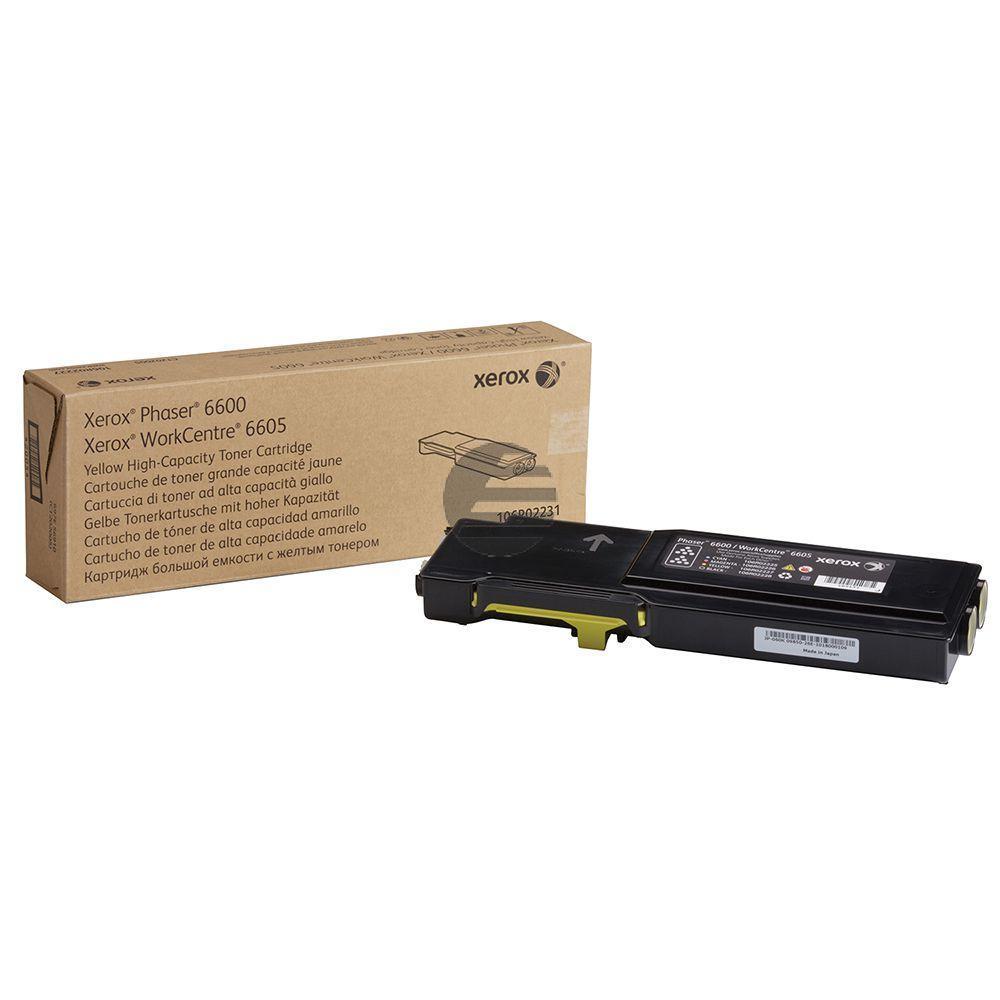 Xerox Toner-Kit gelb HC (106R02231)