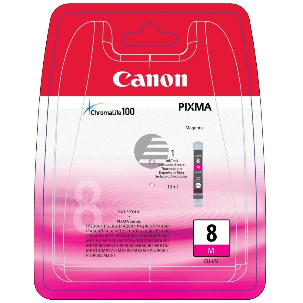 Canon Tintenpatrone magenta (0622B026, CLI-8M)