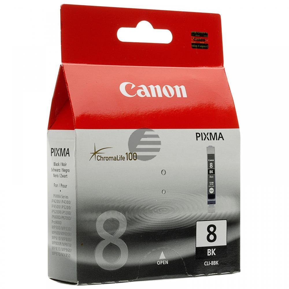Canon Tintenpatrone schwarz (0620B028, CLI-8BK)