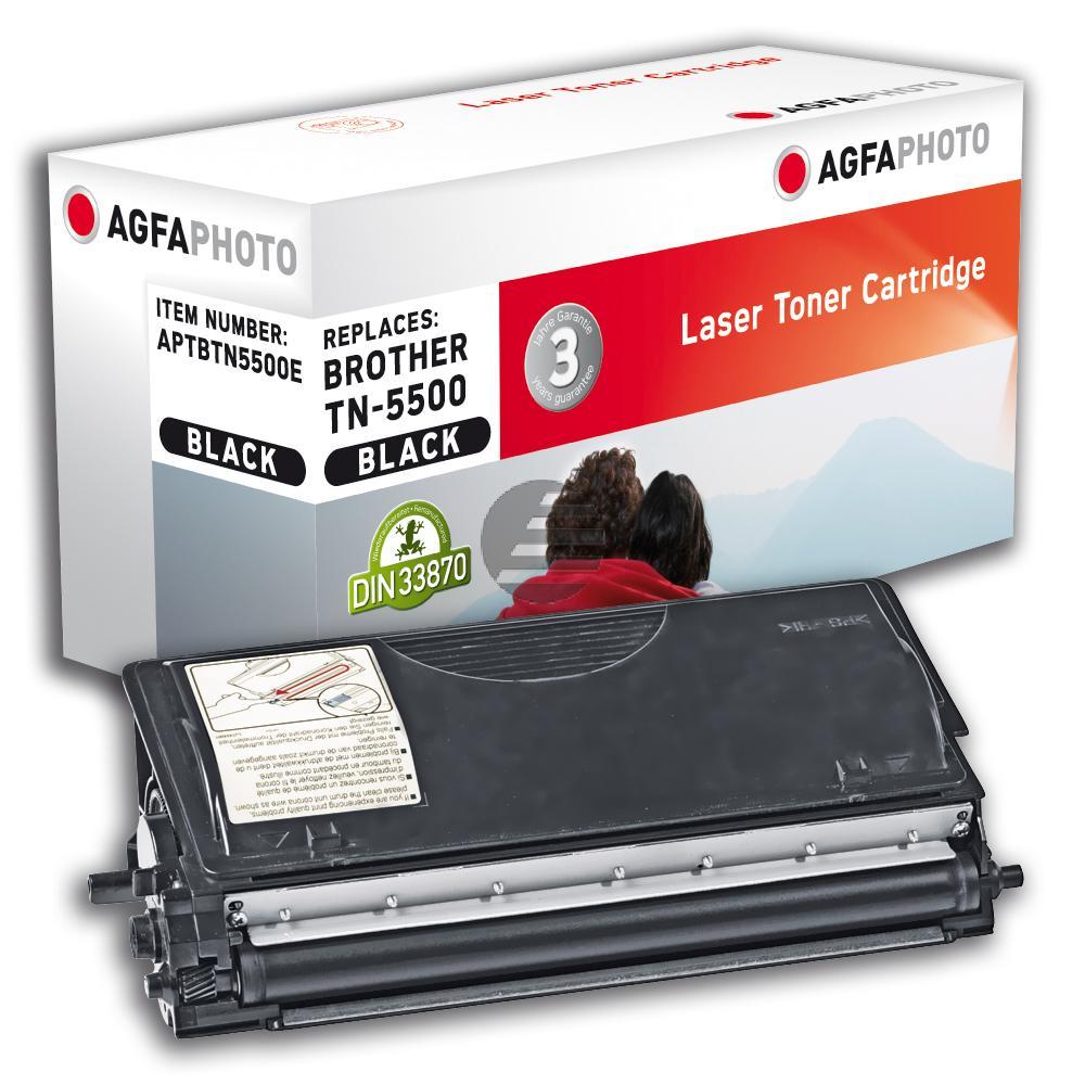 Agfaphoto Toner-Kartusche schwarz (APTBTN5500E) ersetzt TN-5500