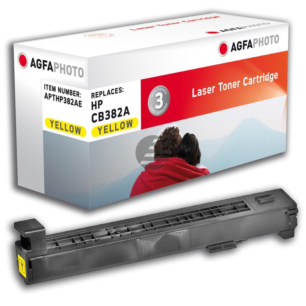 Agfaphoto Toner-Kit gelb (APTHP382AE) ersetzt 824A
