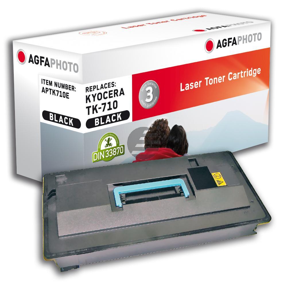 Agfaphoto Toner-Kit schwarz (APTK710E) ersetzt TK-710