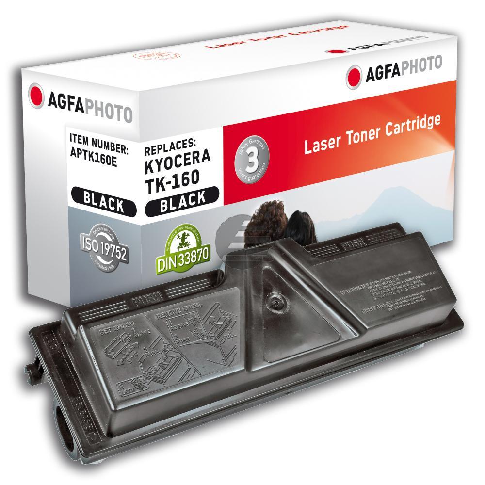 Agfaphoto Toner-Kit schwarz (APTK160E) ersetzt TK-160