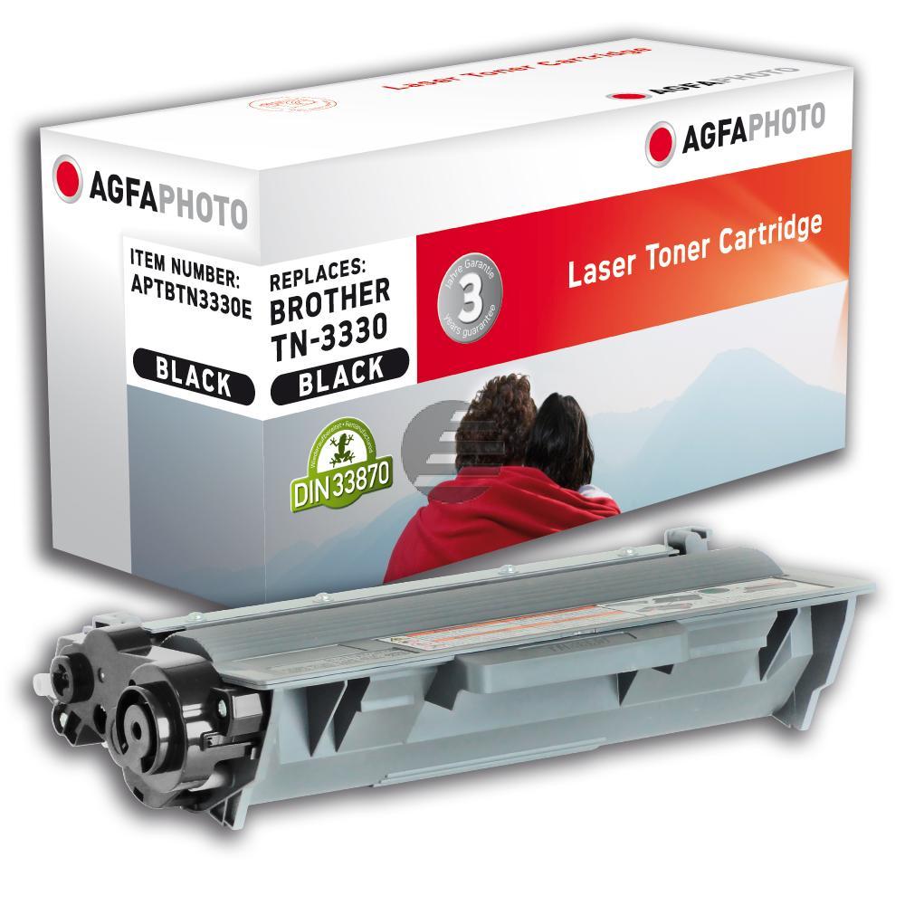 Agfaphoto Toner-Kartusche schwarz (APTBTN3330E) ersetzt TN-3330