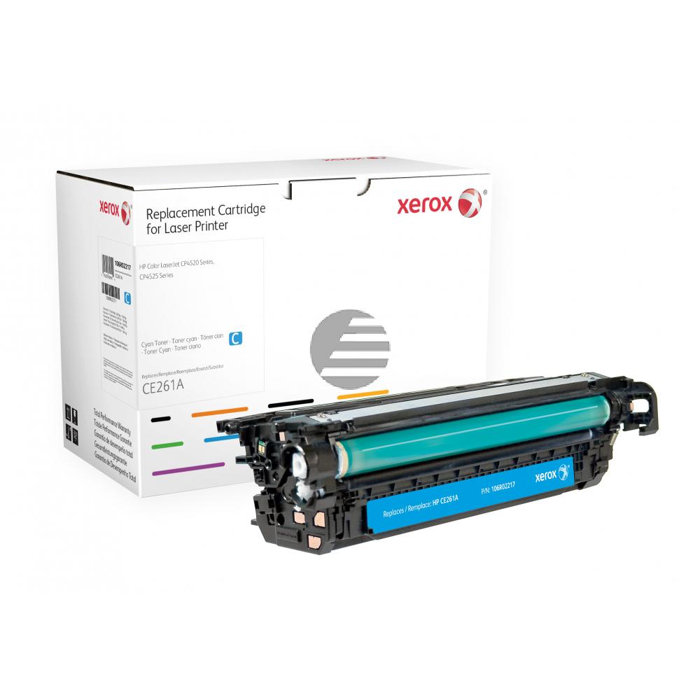 Xerox Toner-Kartusche cyan (106R02217) ersetzt 648A