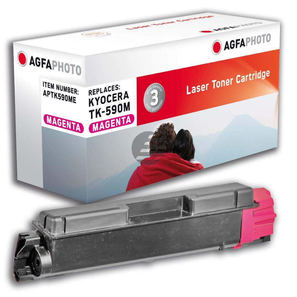 Agfaphoto Toner-Kit magenta (APTK590ME) ersetzt TK-590M, TK-M4726