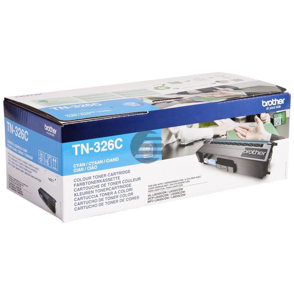Brother Toner-Kit cyan HC (TN-326C)