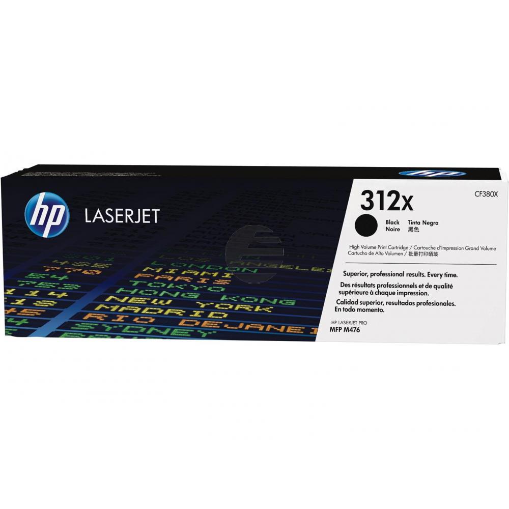 HP Toner-Kartusche schwarz HC (CF380X, 312X)