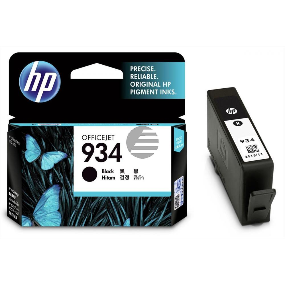 HP Tintenpatrone schwarz (C2P19AE, 934)