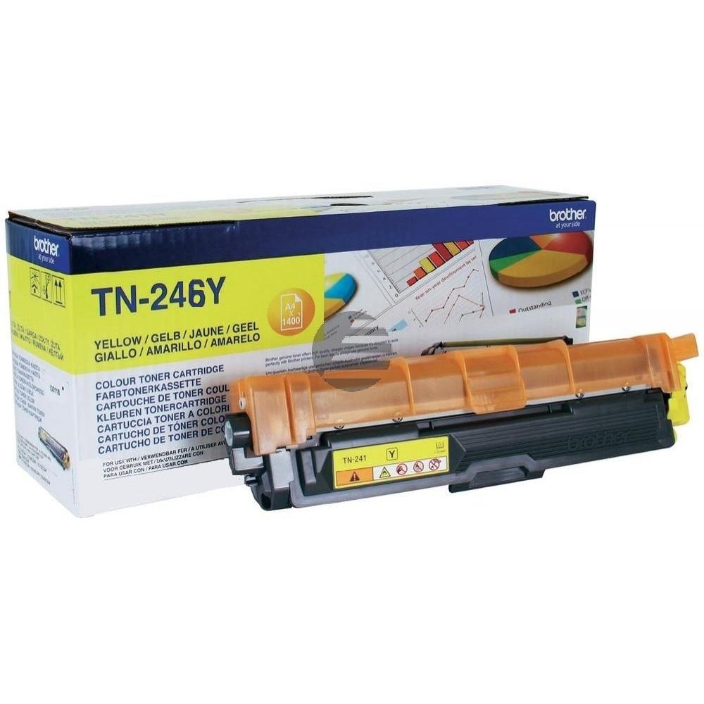 Brother Toner-Kit gelb HC (TN-246Y)