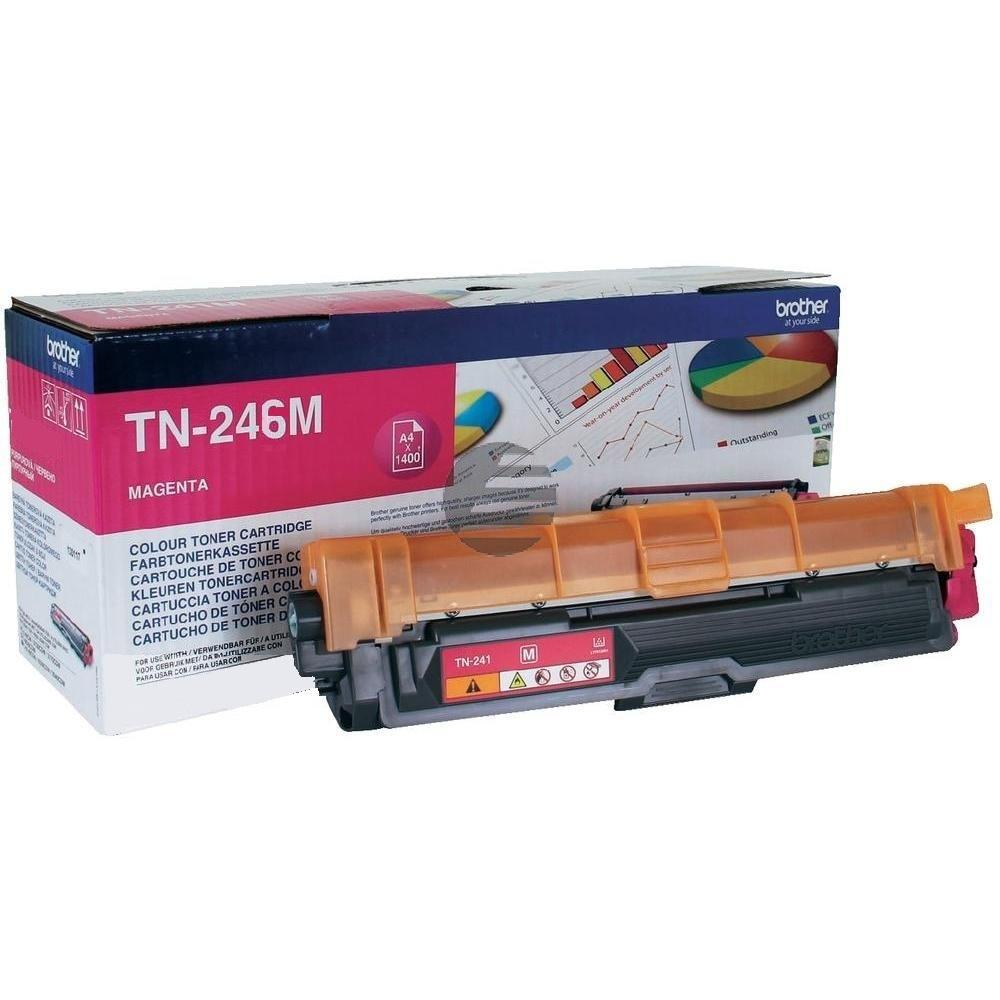 Brother Toner-Kit magenta HC (TN-246M)