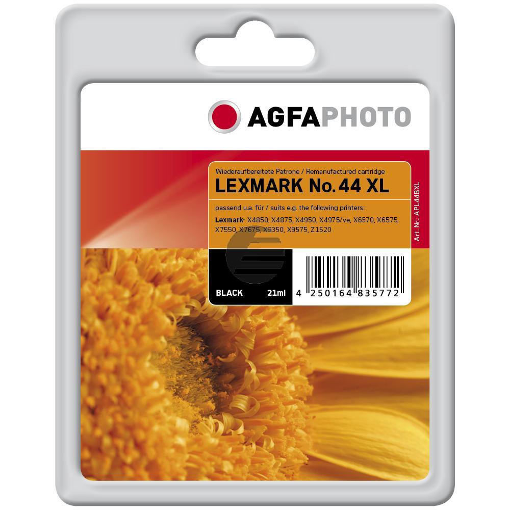 Agfaphoto Tintendruckkopf schwarz (APL44BXL) ersetzt 44XL