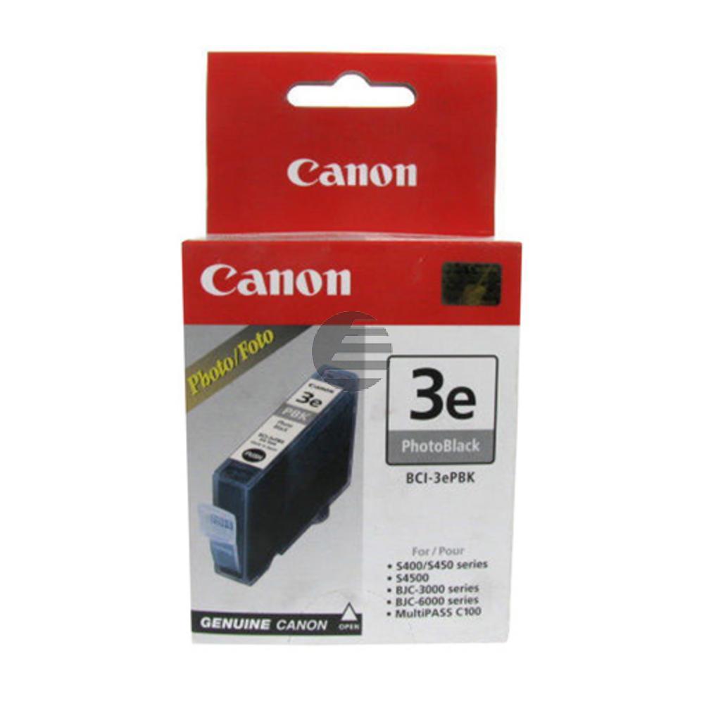 Canon Tintenpatrone photo schwarz (4485A002AA, BCI-3EPBK)