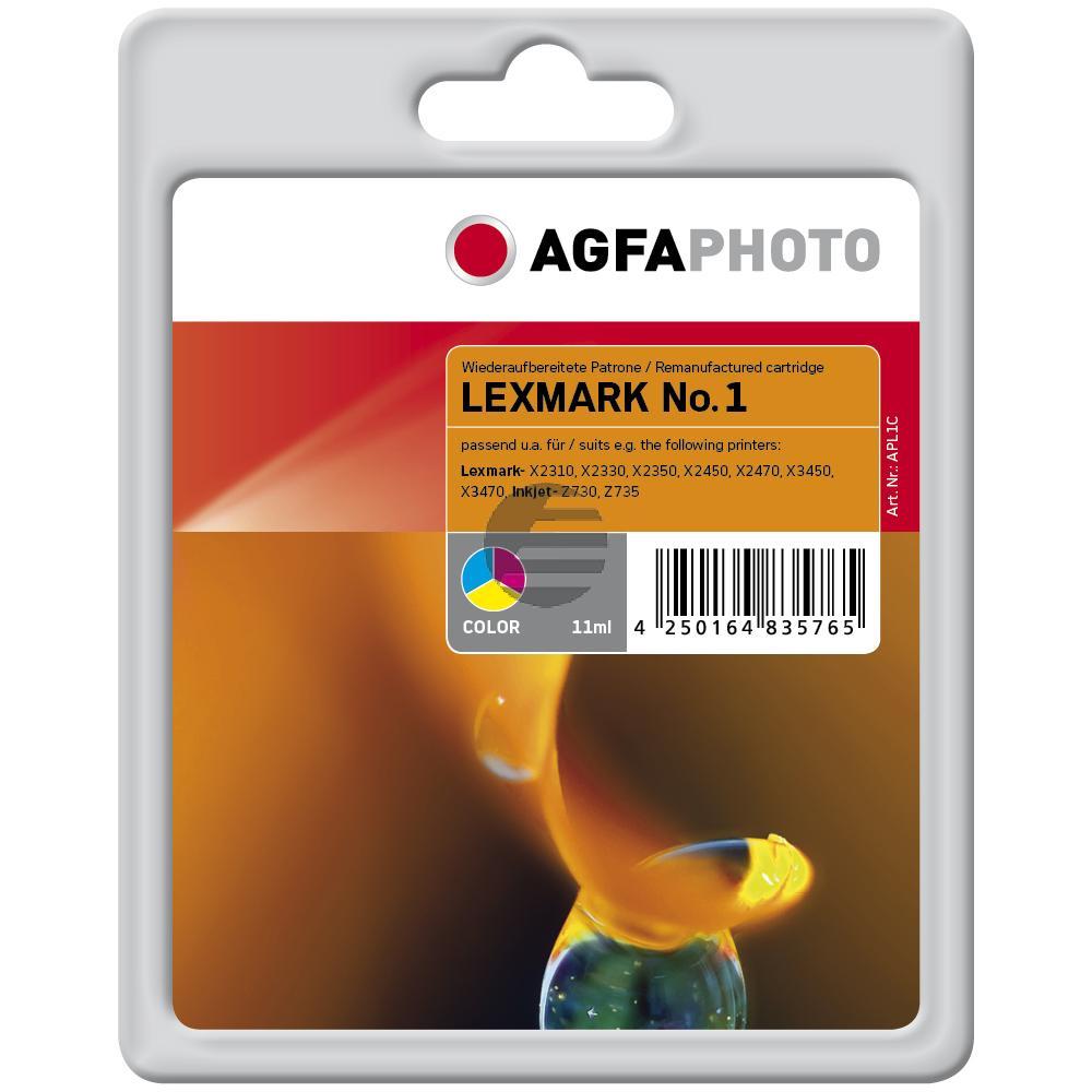 Agfaphoto Tintendruckkopf cyan/gelb/magenta HC (APL1C) ersetzt 1