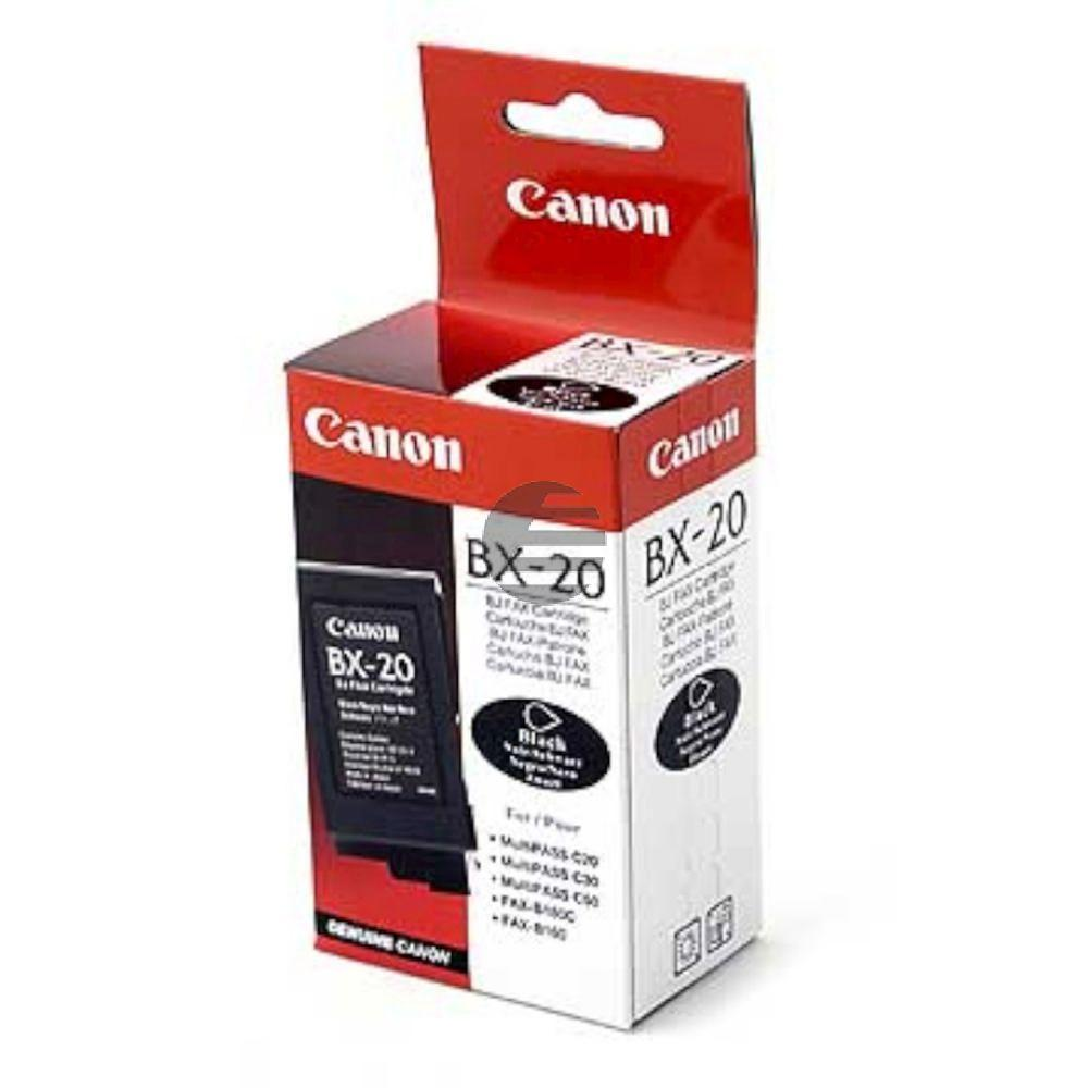 Canon Tintendruckkopf schwarz (0896A002AA, BX-20)