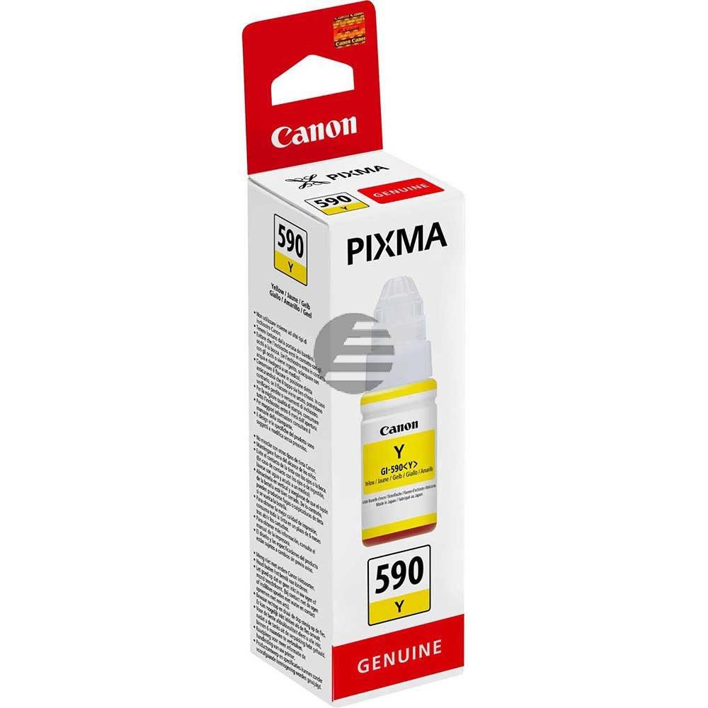Canon Tintennachfüllfläschchen gelb (1606C001, GI-590Y)