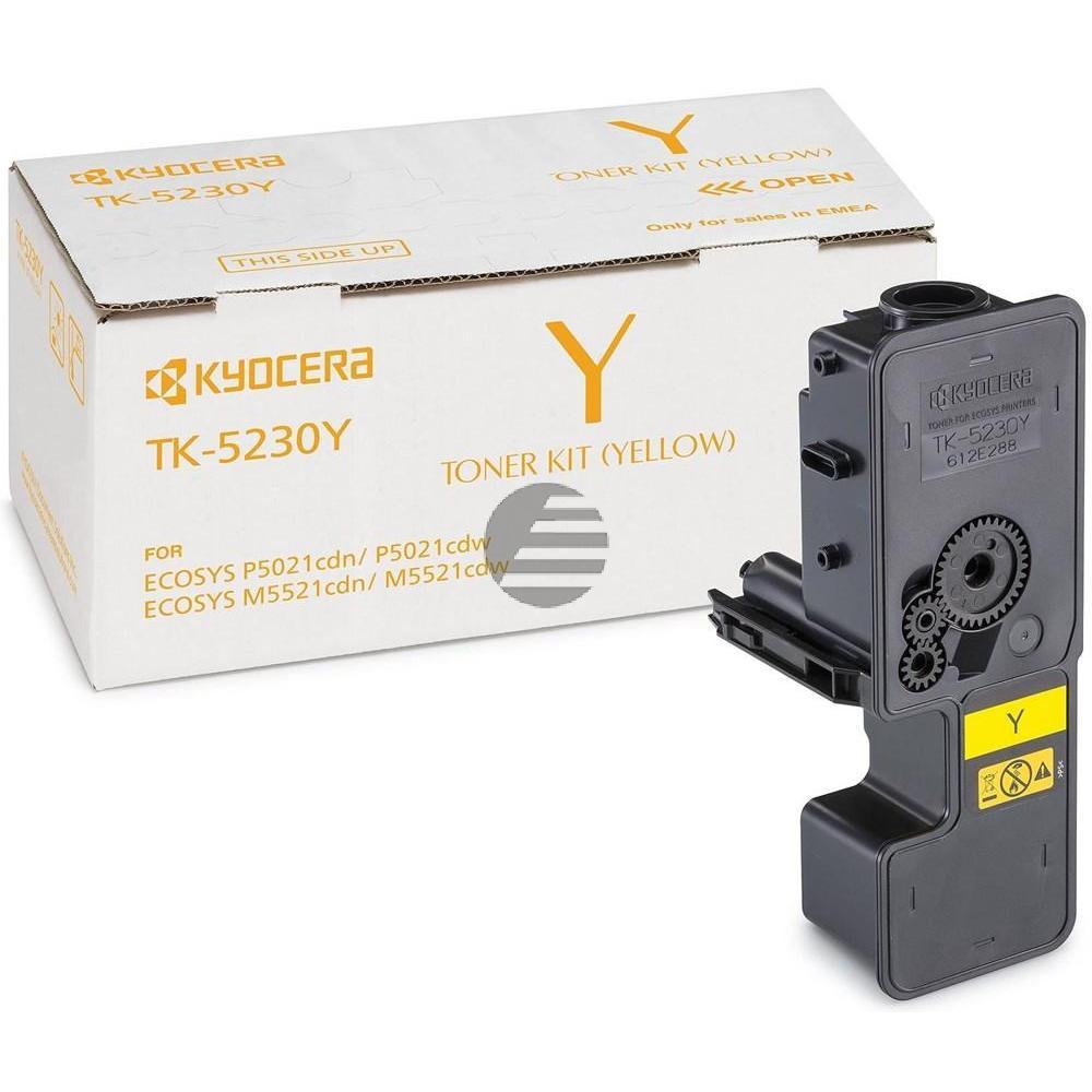 Kyocera Toner-Kartusche gelb HC (1T02R9ANL0, TK-5230Y)