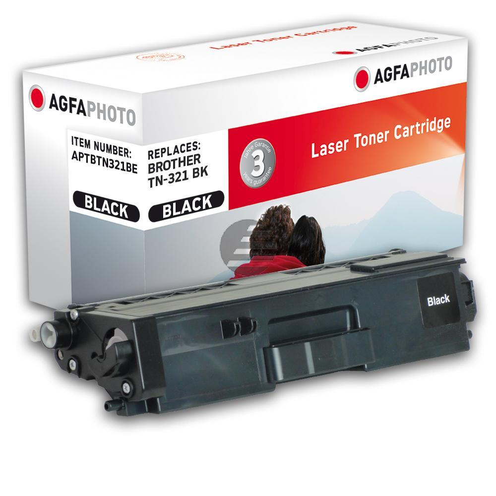 Agfaphoto Toner-Kartusche schwarz (APTBTN321BE) ersetzt TN-321BK