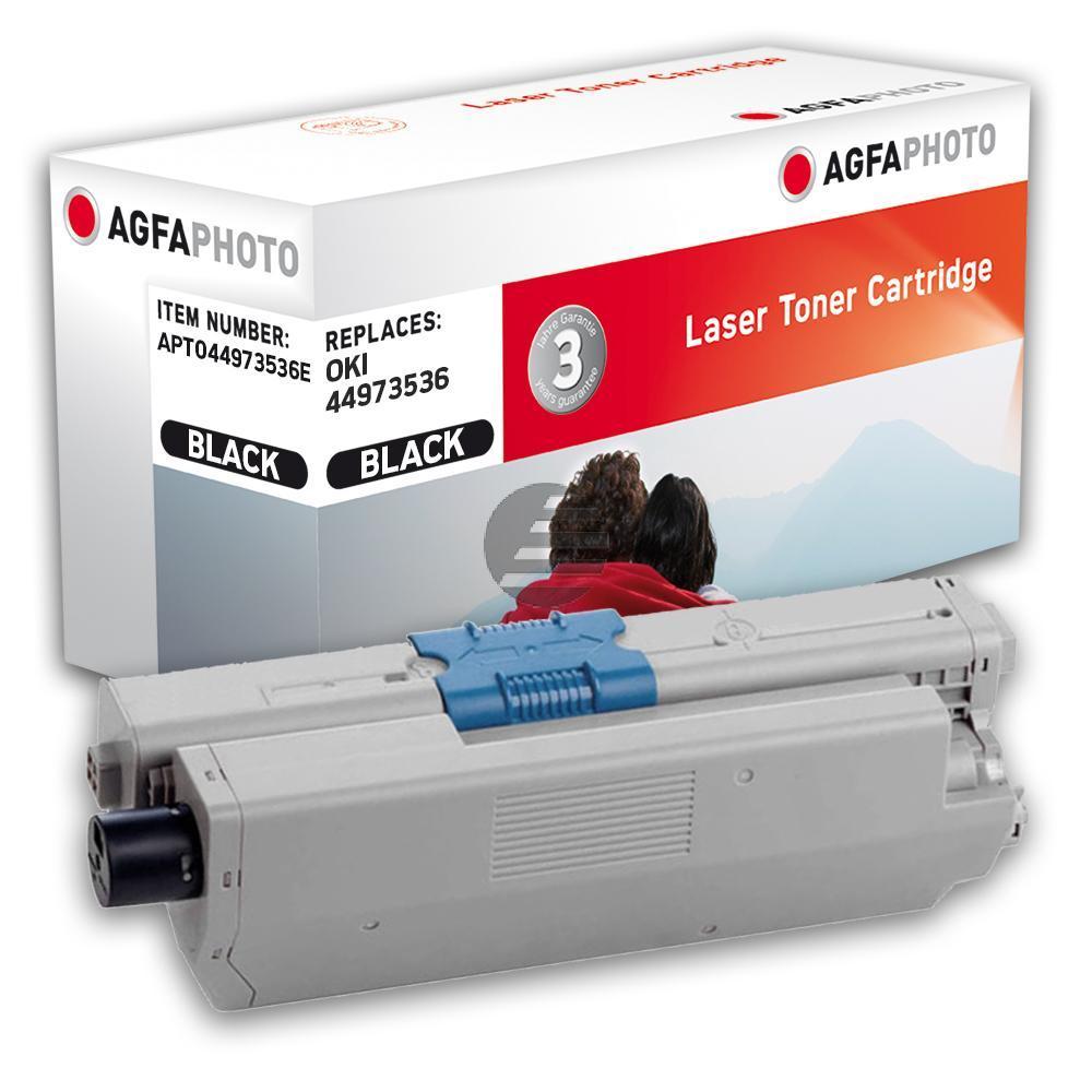 Agfaphoto Toner-Kit schwarz (APTO44973536E) ersetzt 44973536