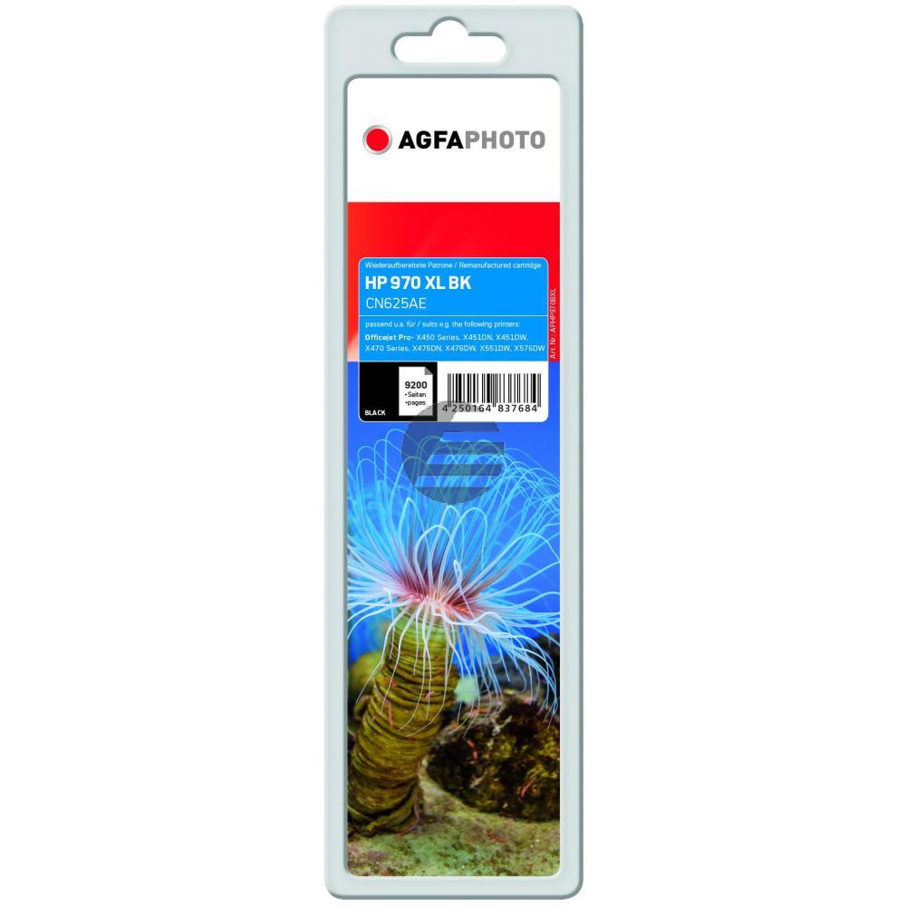Agfaphoto Tintenpatrone schwarz HC (APHP970BXL) ersetzt 970XL