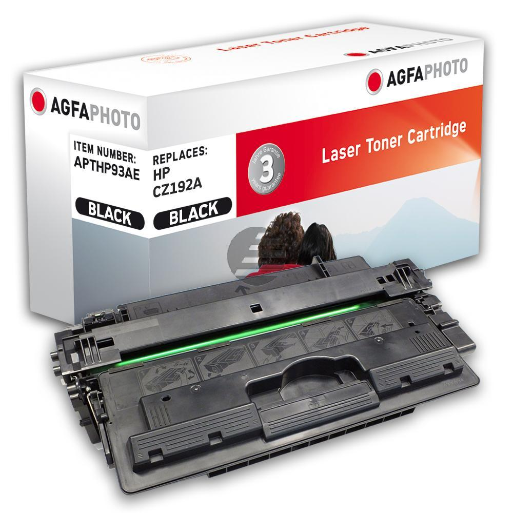Agfaphoto Toner-Kartusche schwarz (APTHP93AE) ersetzt 93A