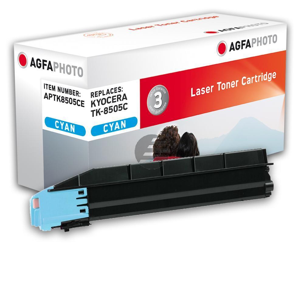 Agfaphoto Toner-Kit cyan (APTK8505CE) ersetzt TK-8505C