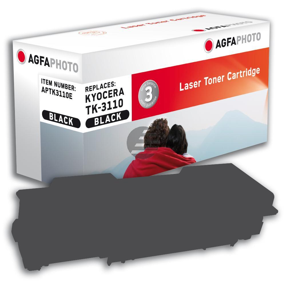 Agfaphoto Toner-Kartusche schwarz (APTK3110E) ersetzt TK-3110