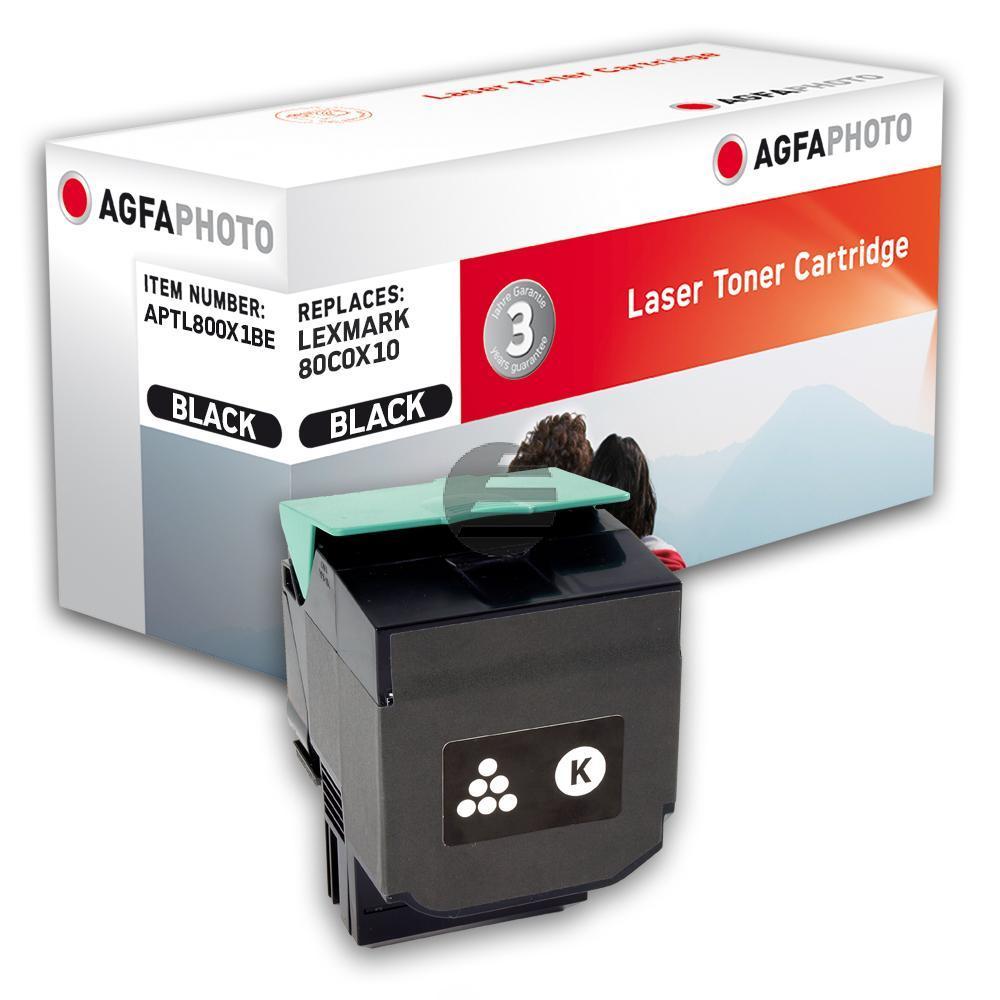 Agfaphoto Toner-Kit schwarz (APTL800X1BE) ersetzt 800X1