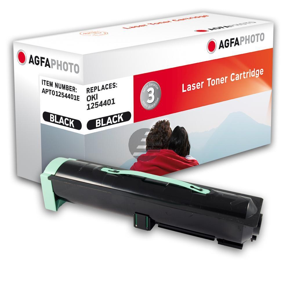Agfaphoto Toner-Kit schwarz (APTO1254401E) ersetzt 01254401