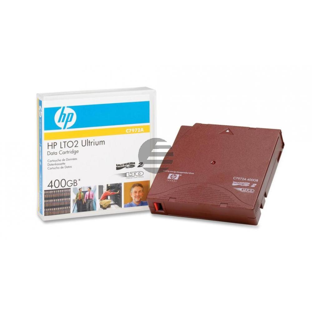 C7972A HP DC ULTRIUM2 LTO2 ohne Label 200-400GB